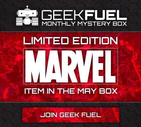 Geek Fuel May 2015 Box Spoiler - Limited Edition Marvel