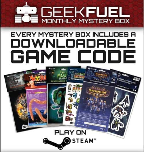 Geek Fuel Downloadable Video Games