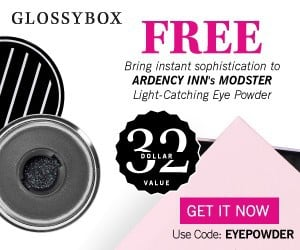 GLOSSYBOX May 2015 Free Gift Coupon