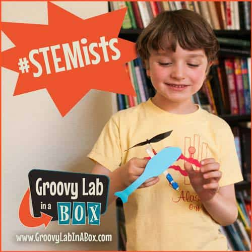 Groovy Lab in a Box May 2105 Theme - Fly With Me