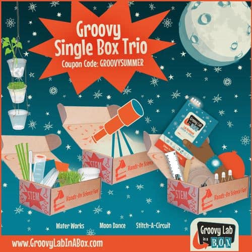 Groovy Lab in a Box Single Box Trio