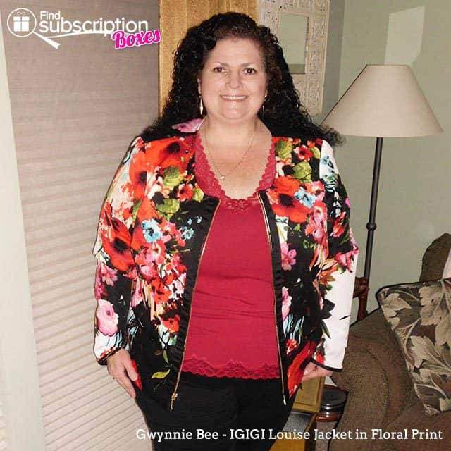 Gwynnie Bee May 2015 Style Review - IGIGI Louise Jacket