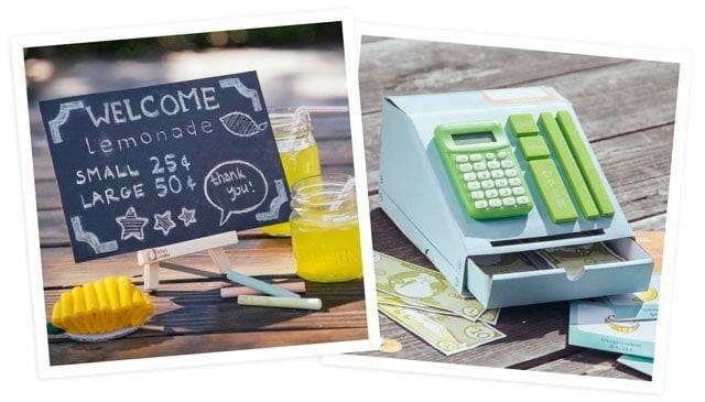 Kiwi Crate July 2015 Box Spoilers - Lemonade Stand