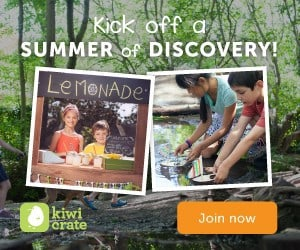 Kiwi Crate Summer Discovery Series