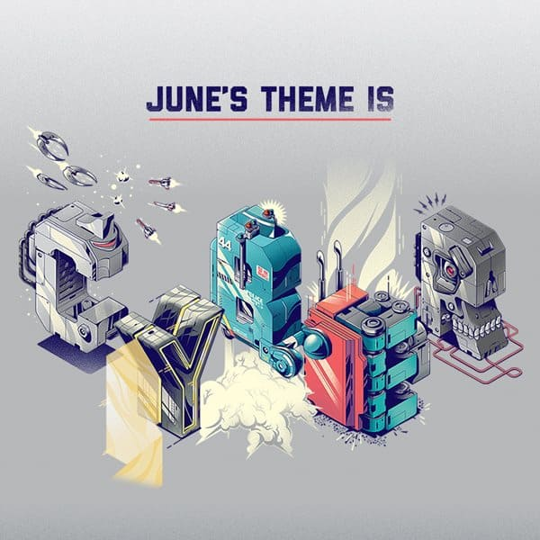 Loot Crate June 2015 Theme Reveal - Cyber