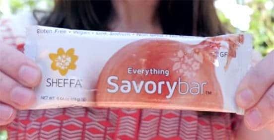 Love WIth Food June 2015 Box Spoiler - Sheffa Everything Savory Bar