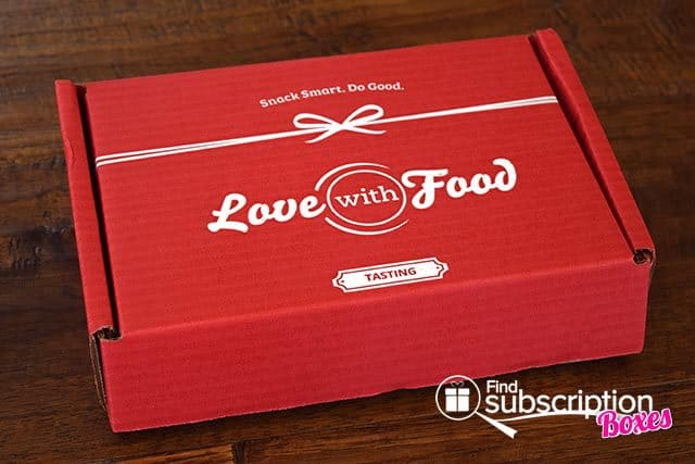 Love With Food May 2015 Tasting Box Review - Box
