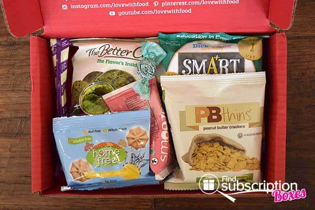 Love With Food May 2015 Tasting Box Review - First Look