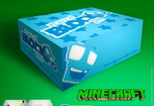 Nerd Block Jr. May 2015 Box Spoiler - Minecraft