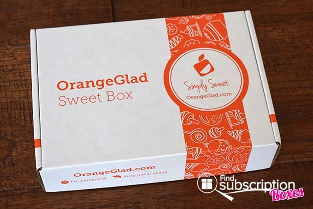 Orange Glad May 2015 Sweet Box Review - Box