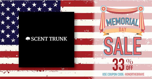 Scent Trunk Memorial Day Coupon