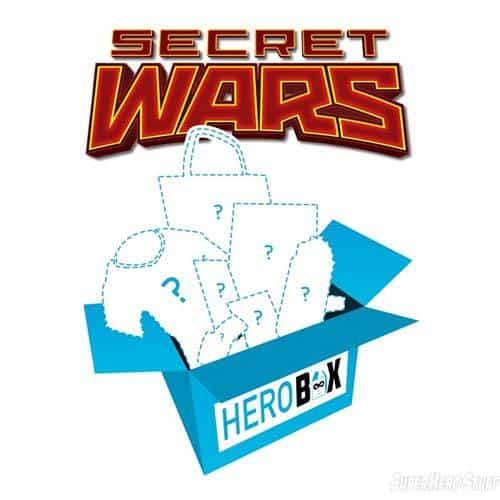 SuperHeroStuff Hero Box May 2015 Box Theme - Secret Wars