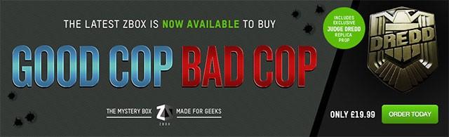 ZBOX June 2015 Theme - Good Cop Bad Cop
