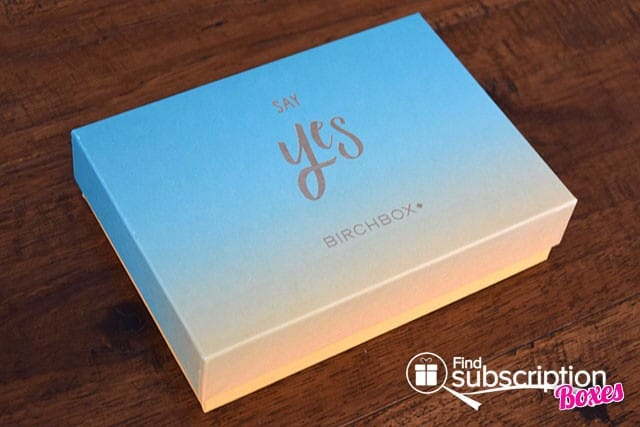 Birchbox June 2015 Say Yes! Box REview - Box