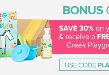 Citrus Lane 30% Off + Free Crocodile Creek Playground Ball
