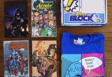 Comic Block May 2015 Box Review - Box Contents
