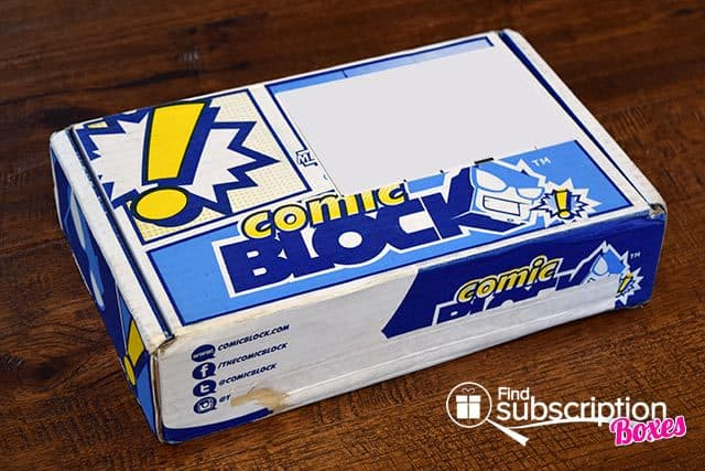 Comic Block May 2015 Box Review - Box