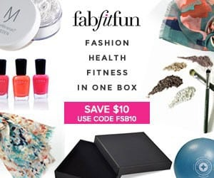 FabFitFun VIP Box Coupon