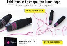 FabFitFun Summer 2015 VIP Box Spoiler - Cosmopolitan Jump Rope