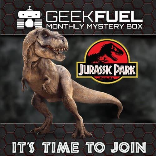 Geek Fuel June 2015 Box Spoiler - Jurassic Park