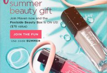Julep Maven Free Poolside Beauty Welcome Box