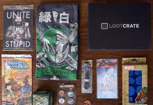 Loot Crate May 2015 Box Review - Unite Crate - Box Contents