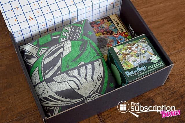 Loot Crate May 2015 Box Review - Unite Crate - First Look