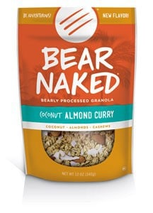 Love With Food July 2015 Tasting Box Spoiler - Bear Naked Coconut Almond Curry