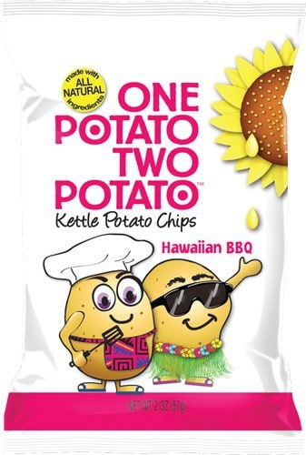 Love With Food July 2015 Tasting Box Spoiler - Hawaiian BBQ One Potato Two Potato