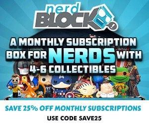 Nerd Block 25% Off