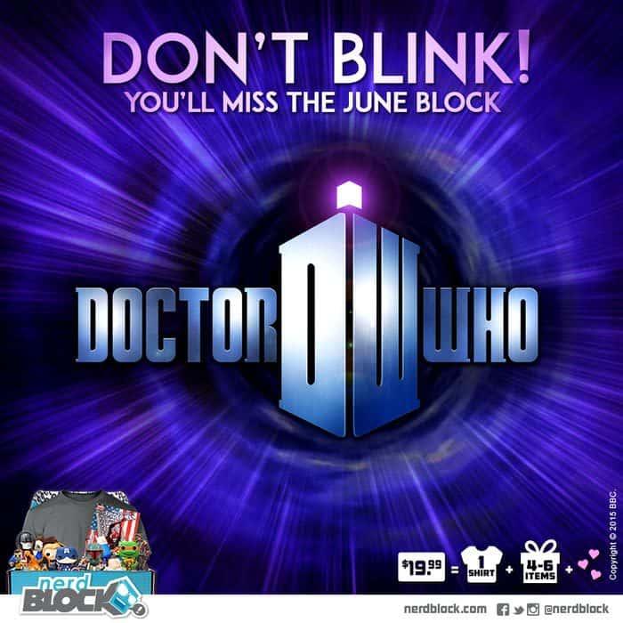 Nerd Block June 2015 Box Spoiler - Doctor Who