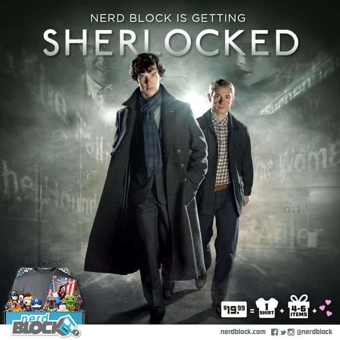 Nerd Block June 2015 Box Spoiler - Sherlock