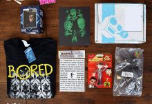 Nerd Block June 2015 British Invasion Classic Block Box Review - Box Contents