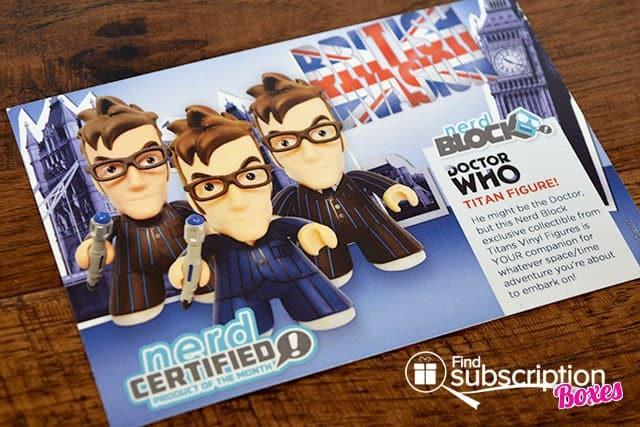 Nerd Block June 2015 British Invasion Classic Block Box Review - Product Card