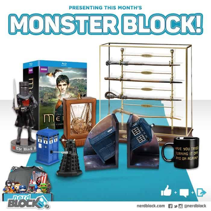 Nerd Block June 2015 Monster Block
