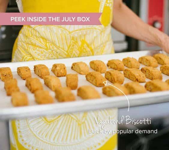 OrangeGlad July 2015 Box Spoiler - Vagabond Biscotti