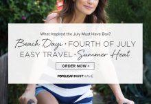 POPSUGAR July 2015 Must Have Box Inspiration