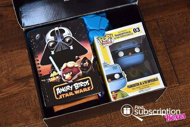 Power Up Box May 2015 Box Review - First Look