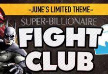 SuperHeroBox Hero Box June 2015 theme - Super-Billionaire Fight Club