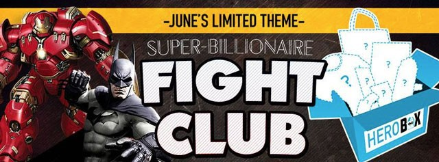 SuperHeroBox Hero Box June 2015 theme - Super-Billionaire Fight Club