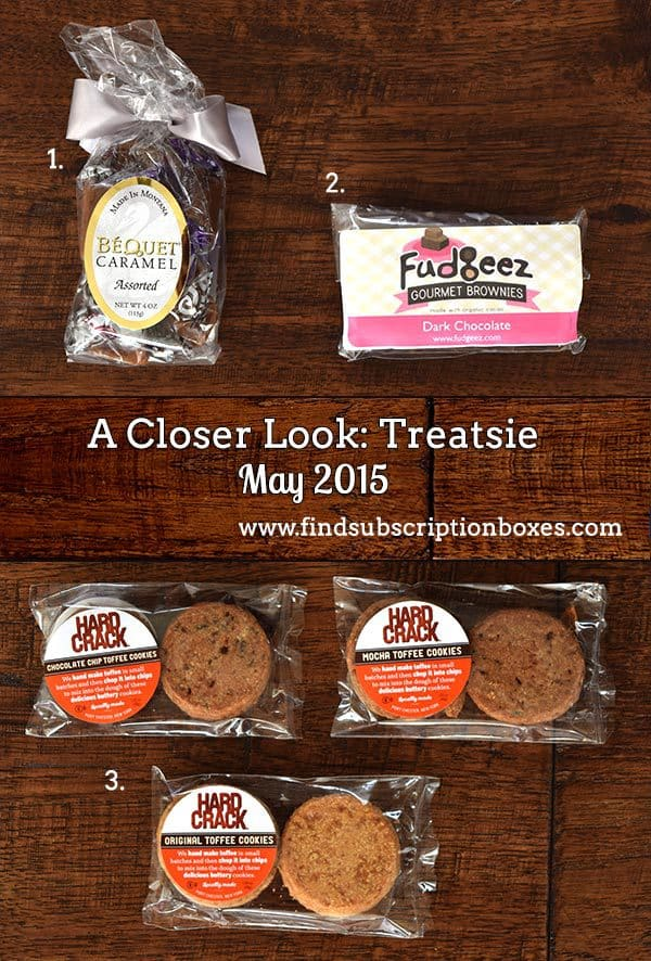 Treatsie May 2015 Box Review - Inside the Box