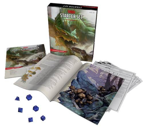 Wil Wheaton Quarterly June 2015 Box Spoilers - Dungeons & Dragons Starter Set