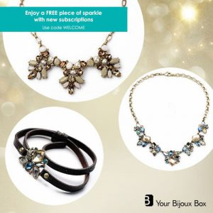 Get a FREE Sparkle with Your Bijoux Box Subscriptions