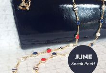 Your Bijoux Box June 2015 Box Spoilers - Pearl and Nautical Stripes Strand