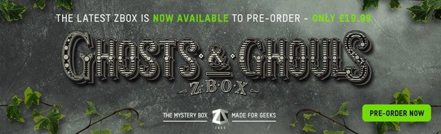 ZBOX July 2015 Theme Reveal - Ghosts and Ghouls