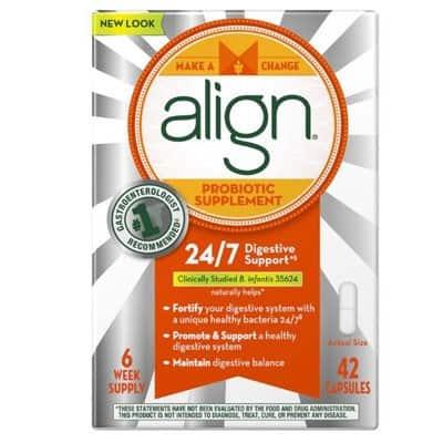 Bestowed July 2015 Box Spoiler - Align probiotic supplements