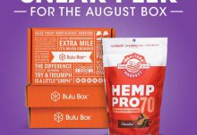 Bulu Box August 2015 Box Spoiler - Hemp Pro 70