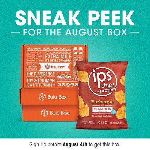 Bulu Box August 2015 Box Spoiler - IPS
