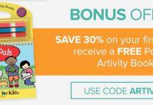 Citrus Lane 30% Off + Free Pet Pals Artivity Book