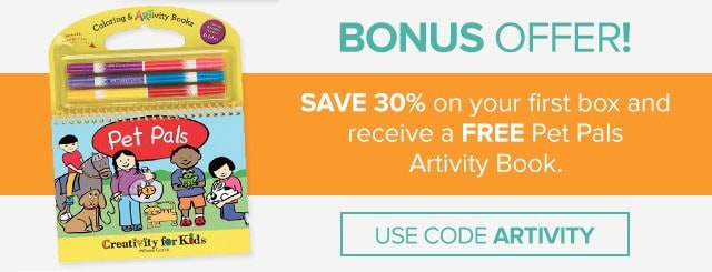 Citrus Lane 30% Off + Free Pet Pals Artivity Book